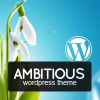 Ambitious - Business & Portfolio WordPress Theme discount code