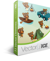Bear Vector Pack - VectorVice Screen shot