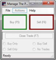 <p>Perfect your trade execution with Manage The Pip's Trainer. Turn your Metatrader 4 Strategy Tester into a full-blown market simulator.</p>