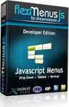 FlexiMenuJS for Dreamweaver Developer Edition - unlimited websites 1 user