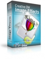 <p>The Creative DW Image Effects is a Dreamweaver extension that applies multiple effects to images. It supports both static effects and rollover effects. It also supports button actions and the effects can be combined.</p>