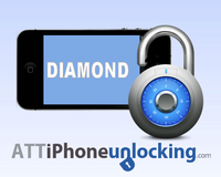 Permanent Factory Unlock for AT&T iPhone - DIAMOND - 1-3 Business days