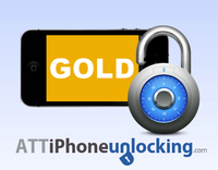 Permanent Factory Unlock for AT&T iPhone - GOLD - 1-7 Business days Screen shot