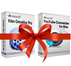 Aneesoft Video Converter Pro and YouTube Converter Bundle for Mac Screen shot