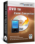 <p> 	Tipard DVD to Zune Converter is up-to-date Zune Converter and fatest converting DVD to Zune for Zune users, which enables you convert DVD to Zune WMV, MP4, transfer DVD to Zune 2 WMV, MP4.</p>