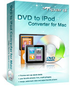 <p> 	Tipard DVD to iPod Converter for Mac is a versatile Mac DVD to iPod software for Mac users to rip DVD to iPod, iPod classic, iPod touch, iPod touch 4 and iPod nano, iPhone, etc. It can rip DVD to iPod video MPEG-4, H.264/MPEG-4 AVC, MOV, M4V.</p>