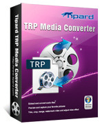<p> 	Tipard TRP Media Converter, the best and user-friendly TRP Converter, allows you to convert TRP file to MPEG, FLV, H.264, 3GPP, MOV, DivX, XviD, HD video, etc. Also you can extract audio from TRP file with this TRP Converter.</p>