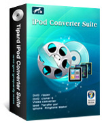 <p> 	Tipard iPod Converter Suite is a requisite iPod converter to rip DVD to iPod video and convert video to iPod video format on multifarious iPod devices as well as to transferring music and video from iPod to computer.</p>