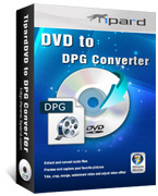 <p> 	Tipard DVD to DPG Converter is designed for NDS fans to rip DVD to NDS DPG/DPG2/DPG3/DPG4 video and MP3/MP2 audio. Furthermore, this DVD to DPG Converter can also convert DVD to any other video/audio formats.</p>