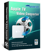 <p> 	Tipard Apple TV Video Converter gives you a hand to convert all videos to Apple TV MPEG-4/H.264, even from the High Definition videos. Also, it is easy to convert all popular audio files or extract audio from videos to Apple TV AAC, AIFF, MP3, etc.</p>