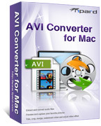 <p>Tipard AVI Converter for Mac es que una práctica Mac AVI Converter resorts para convertir vídeo a AVI, AVI HD, DivX(.avi), XviD(.avi) formato en Mac OS X. Soporta múltiples formatos de vídeo incluyendo videos MP4, 3GP, Mod, MKV, VOB, WMV, MPEG, HD, etc..</p>