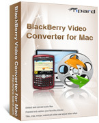 <p>Tipard BlackBerry Video Converter para Mac es en un esfuerzo para convertir el vídeo a BlackBerry en Mac. Este Mac BlackBerry Converter es un conversor de vídeo gran para BlackBerry Curve/Pearl, BlackBerry 8800, BlackBerry 8300, BlackBerry 8100.</p>