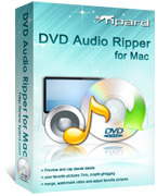 <p>Tipard Mac DVD Audio Ripper est un ripper audio professionnel pour les utilisateurs de Mac ripper DVD audio pour lecteur MP3 ou lecteur audio. Il peut ripper audio de n'importe quel DVD à AAC, AC3, AIFF, AMR, AU, FLAC, MP3, M4A, etc. plus rapide conversion vitesse/qualité.</p>