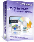 <p> 	Tipard DVD to AMV Converter for Mac is the best DVD ripping software and best Mac DVD AMV Converter for you to rip DVD to AMV, MTV and MP3, MP2, WAV audio formats for you to enjoy on MP4 players, as well as S1 MP3 players with video playback.</p>