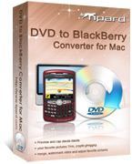 <p>Tipard DVD to BlackBerry Converter for Mac es modificado para requisitos particulares para que los usuarios de BlackBerry convertir DVD para teléfono BlackBerry en Mac. Más especialmente, este Mac DVD to BlackBerry Converter puede ripear DVD a BlackBerry admitido formatos de vídeo MPEG-4, etc..</p>