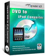 <p> 	Tipard DVD to iPad Converter provides you with powerful function of ripping DVD to iPad video formats and extracting audio from DVD file to any popular audio format as you like. Tipard DVD to iPad Converter also possesses mighty editing functions.</p>