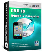 <p> 	Tipard DVD to iPhone 4 Converter can help you easily convert your DVD to iPhone 4 MP4, MOV, H.264 (.mp4) video formats. Moreover, it can convert DVD to iPhone 4 audio MP3, AAC, AIFF, M4A, WAV with super speed and excellent quality.</p>