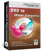<p> 	Tipard DVD to iRiver Converter can convert DVD to iRiver X20 WMV, B20 WMV, Clix WMV, iRiver SIREN DP350 WMV. This DVD to iRiver Converter also assists you to convert or extract DVD audio to other audio format.</p>