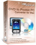 <p> Tipard DVD to Pocket PC Converter para Mac permite a cualquiera pasar un DVD a Pocket PC. Puede convertir DVD a Pocket PC XviD, WMV, 3GP, 3G2, WMV HD formatos de vídeo y extraer audio de DVD a MP3, WMA. </p>
