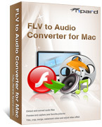 <p> 	Tipard FLV to Audio Converter for Mac can convert FLV to MP3, AAC, WMA, WAV, M4A, AC3, OGG, etc with overwhelmingly conversion speed and highest conversion quality.</p>