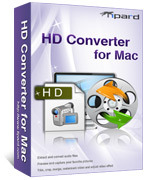 <p> 	Tipard HD Converter for Mac can convert among HD videos(including 1080P, 720P, etc.), and it can convert HD video to general videos. It also converts your general videos, like MPG, MPEG, MP4, M4V, and so on for your player high compatible.</p>