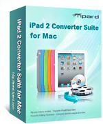 <p> 	Tipard iPad 2 Converter Suite for Mac is the most professional and easy-to-use iPad 2 software tools pack, it provides you with several perfect tools: DVD to iPad 2 Converter for Mac, iPad 2 Video Converter for Mac, iPad 2 Transfer for Mac.</p>