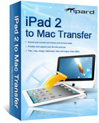 <p> 	Tipard iPad 2 to Mac Transfer not only can transfer various movies, songs, or photos from your iPad 2 to Mac or iTunes for safety and backup, but also can successfully finish the task without any loss.</p>