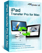 <p> 	Tipard iPad Transfer Pro for Mac can help you transfer your iPad videos, songs and pictures to your Mac. Also with this transfer, you can transfer files from your Mac to iPad. Moreover, it provides you with some powerful converting functions.</p>