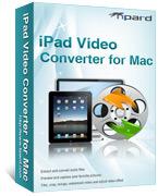 Tipard iPad Video Converter for Mac coupon