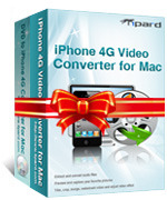 <p> 	Tipard iPhone 4G Converter Suite for Mac, the best Mac iPhone 4 Converter Suite, includes Mac iPhone 4G Video Converter and Mac DVD to iPhone 4G Converter.</p>