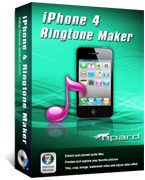 <p> 	Tipard iPhone 4 Ringtone Maker can convert almost all mainstream video/audio formats including MPEG, WMV, MP4, DivX, MOV, RM, AAC, WMA, MP3 to iPhone 4, white iPhone 4 M4R ringtone. You can even rip all popular DVDs to iPhone 4 ringtone.</p>