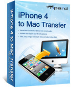 <p> 	Tipard iPhone 4 to Mac Transfer is your best choice to transfer iPhone 4 files to Mac local disk. With this iPhone 4 to Mac Transfer, you can backup songs, videos, photos from iPhone 4 to Mac directly without any lost.</p>