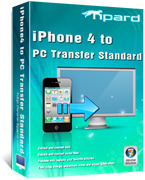 <p> 	Tipard iPhone 4 to PC Transfer, a multifunctional and humanized iPhone 4 transferring application, which can help users transfer various mainstream media files to PC, such as music/movie/Pictures/TV Shows/Podcast/iTunes U/eBooks/Camera Roll, etc.</p>