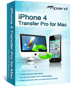 <p> 	Tipard iPhone 4 Transfer Pro for Mac can help you copy and import Mac local video/audio files to your iPhone 4 and backup iPhone 4 files to Mac with fast speed. Furthermore, it can backup music, videos or photos from iPhone 4 to iTunes.</p>