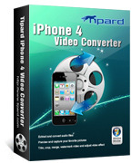 <p>Tipard iPhone 4 Video Converter puede convertir casi todos los vídeos, incluyendo videos de HD, a formatos de audio y vídeo para el iPhone 4. El núcleo más reciente conversión proporciona un rendimiento superior.</p>