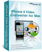 <p> 	Tipard iPhone 4 Video Converter for Mac can help you convert MPG, MPEG, MPEG2, VOB, MP4, M4V, RM, RMVB, HD MPG, etc. to iPhone MP4, MOV, H.264(.mp4), extract audio files from all popular video formats into MP3, M4A, AAC, WAV, AIFF for your iPhone 4.</p>