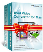 <p> 	Tipard iPod Converter Suite for Mac is an excellent Software for Mac users to rip DVD to iPod and convert video to iPod. This Mac iPod software is the combination of Tipard iPod video converter for Mac, Tipard DVD to iPod Converter for Mac.</p>