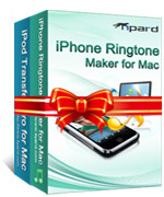 <p>Tipard iPod + iPhone Mac Suite es realmente el iPod iPhone software Mac para transferir entre el iPod/iPhone y Mac y crear un tono para el iPhone en Mac. Realmente incluye iPod Transfer Pro para Mac y el iPhone Ringtone Maker para Mac.</p>