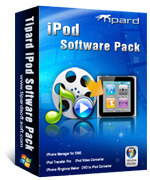 <p> 	Tipard iPod Software Pack integrates five powerful iPod softwares: DVD to iPod Converter software, iPod Video Converter software, iPod Transfer Pro software, iPhone Ringtone Maker and iPhone Manager for SMS.</p>