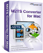 <p> 	Tipard M2TS Converter for Mac converts M2TS video to your iPod, iPhone, PSP, Zune and other devices compatible video/audio formats like MP4, AVI, 3GP, WMV, HD MP4, etc, even output your M2TS file to YouTube FLV video format.</p>