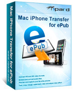 <p> 	Tipard Mac iPhone Transfer for ePub, the most professional iPhone ePub Transfer for Mac, help you transfer ePub files from Mac to iPhone. Then you can enjoy the ePub ebooks on iPhone.</p>