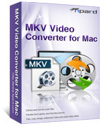 <p> 	Tipard MKV Video Converter for Mac can convert MKV to AVI, MP4, HD videos as well as other popular video formats on Mac. It also can get MP3, WAV, WMA, AAC or M4A music file from MKV, MPG, WMV, MP4, AVI files with a few steps.</p>
