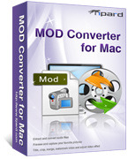 <p> 	Tipard Mod Converter for Mac is poised to convert your .Mod files to FLV Mac for YouTube, Myspace and Google Video, etc as well as to your portable player. Moreover, it can convert TOD, MPG, etc to AVI/MPG/WMV and other popular video/audio formats.</p>