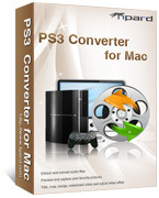<p> 	Tipard PS3 Converter for Mac, one professional Mac PS3 Video Converter for Mac users to convert video to PS3 H.264 (.mp4), PS3 DivX HD (.avi), PS3 HD MPG, PS3 HD TS, PS3 MPG, PS3 WMV, PS3 MP4.</p>