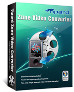 <p> 	Tipard Zune Video Converter can convert any video format such as MPG, WMV, 3GP, Mod, TOD, AVI, DivX, MPEG, etc. to Zune, Zune 2 video formats. It can also convert most audio formats MP3, MP2, AAC, ect to Zune MP3, M4A, WMA and AAC audio formats.</p>