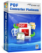 <p> 	Tipard PDF Converter Platinum is the most professional PDF Converter to help you convert PDF files to Word, TXT, and image with perfect output quality. And it allows you to convert define pages of PDF to be converted.</p>