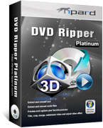 Tipard DVD Ripper Platinum Screen shot