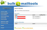 <p><strong>Unlimited Mail System </strong>is an easy to use <strong>Mail Server (SMTP/POP3)</strong> with mail <strong>forwarding</strong>, <strong>unlimited domains</strong> andemail addresses, and a <strong>catch-all</strong> for each domain.</p>