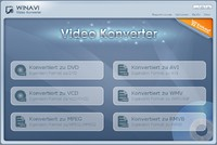 <p>WinAVI Video Converter is a software for video conversion with the fastest conversion speed in the world.<br /><br />By  Using our prodcut, users are released from the limitations and  difficulties of video formats. It can support almost all formats of  video including AVI, MPEG1/2/4, VCD/SVCD/DVD, DivX, XVid, ASF, WMV, RM,  QuickTime MOV, Flash SWF. Also, it allows you to output VCD/SVCD/DVD  even HD formats. A powerful AV compress engine can complete a whole AVI  movie conversion and output VCD/SVCD/DVD formats, that you can burn it  to DVD with other third party burning tools. You can enjoy the film with  your home & PC DVD Player.</p>