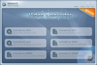 <p> 	WinAVI Video Converter is a complete solution for video file converting and burning.<strong> The fastest converter</strong> on the earth makes speed even faster, convert a movie only need 15 minutes.</p>